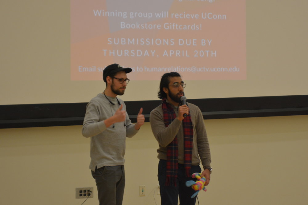 SUBOG hosted the first annual film festival in the Student Union Monday night. The top three films won movie SUBOG vouchers and Fandango gift cards. (Nicholas Hampton/The Daily Campus)