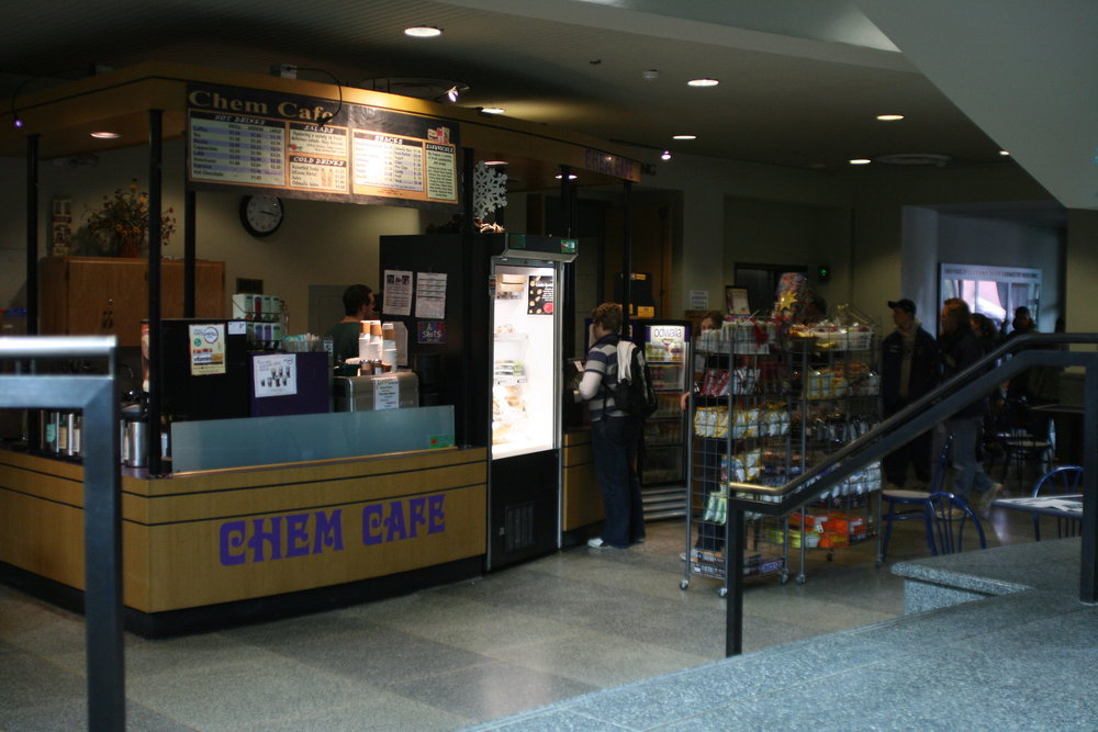The Chem Cafe in the Chemistry Building is the busiest location on campus for coffee stops. (File Photo/The Daily Campus)