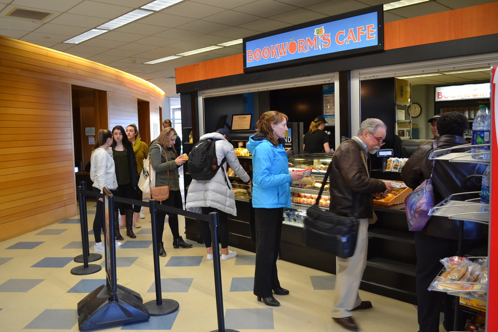 Bookworms is the most well-known of the UConn cafes. It's the only one to sell Peet's Coffee. (Olivia Stenger/The Daily Campus)