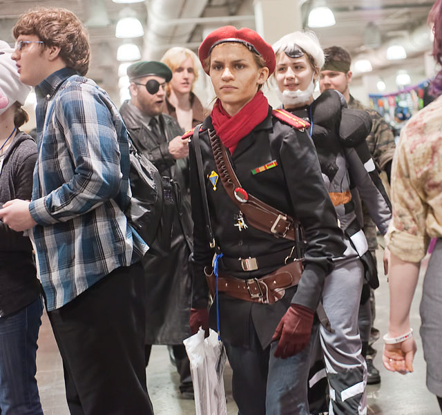 Convention goers attend Anime Boston in 2011. ( Adam Rose /Flickr Creative Commons)