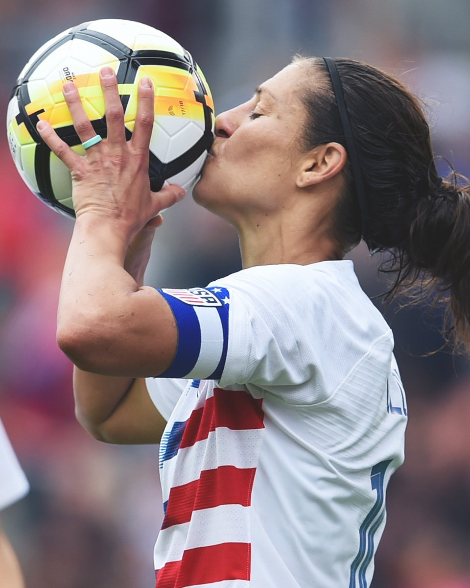 Talking Soccer Carli Lloyd Reaches Another Milestone With The Uswnt