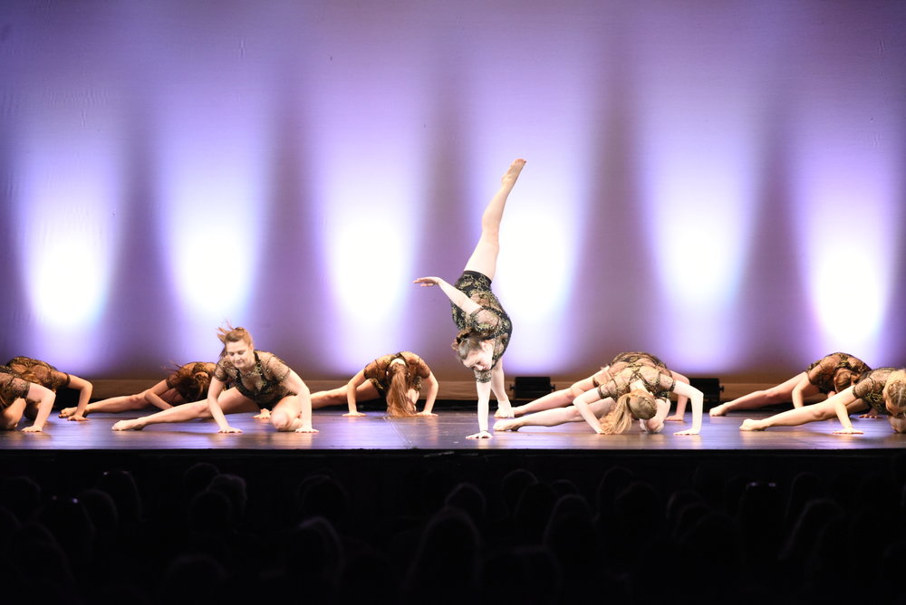 The UConn Dance Company performed their showcase on Wednesday, April 11 in Jorgensen Center for the Performing Arts. The show was broken up into two parts with guest performances from A Completely Different Note and Husky Bhangra.(Charlotte Lao/The Daily Campus)