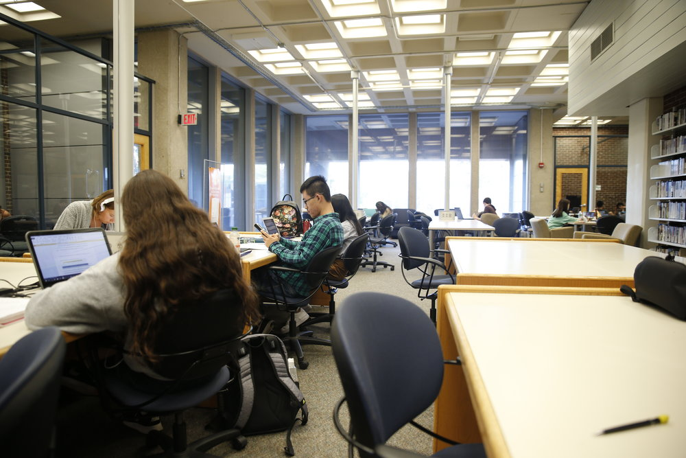 Students whose finals qualify as being bunched should go to the iCenter in the Wilbur Cross Building for help rescheduling them, according to the Dean of Students Office website.(The Daily Campus/file photo)