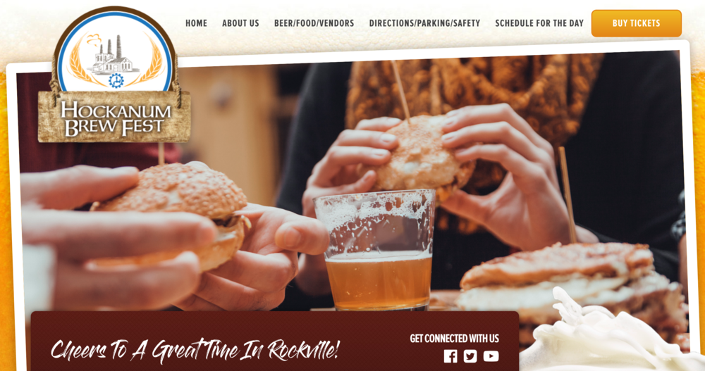 A portion of the proceeds will go to the American Legion Rockville Post 14. Ticket sales and a full list of vendors in attendance can be found on the Hockanum Brew Fest website. (Screenshot via website)
