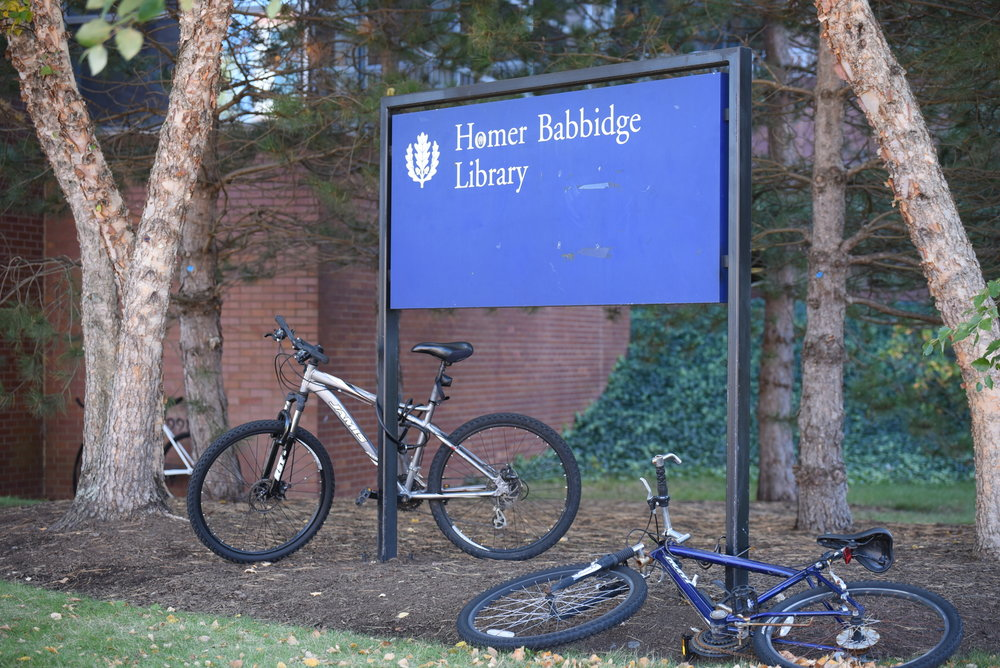 Homer Babbidge Library sees it's traffic pick up substantially as finals approach (File Photo/The Daily Campus)