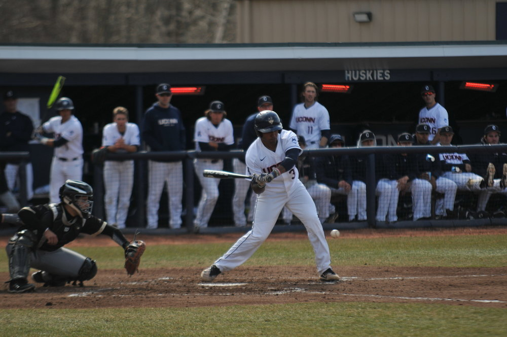 UConn at the dish in a earlier game hosting UCF (The Daily Campus)