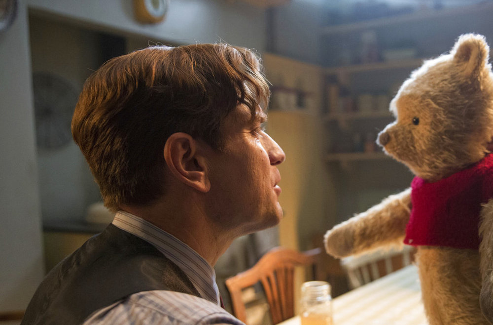 """This image released by Disney shows Ewan McGregor in a scene from """"Christopher Robin."""" (Laurie Sparham/Disney via AP, File)"""
