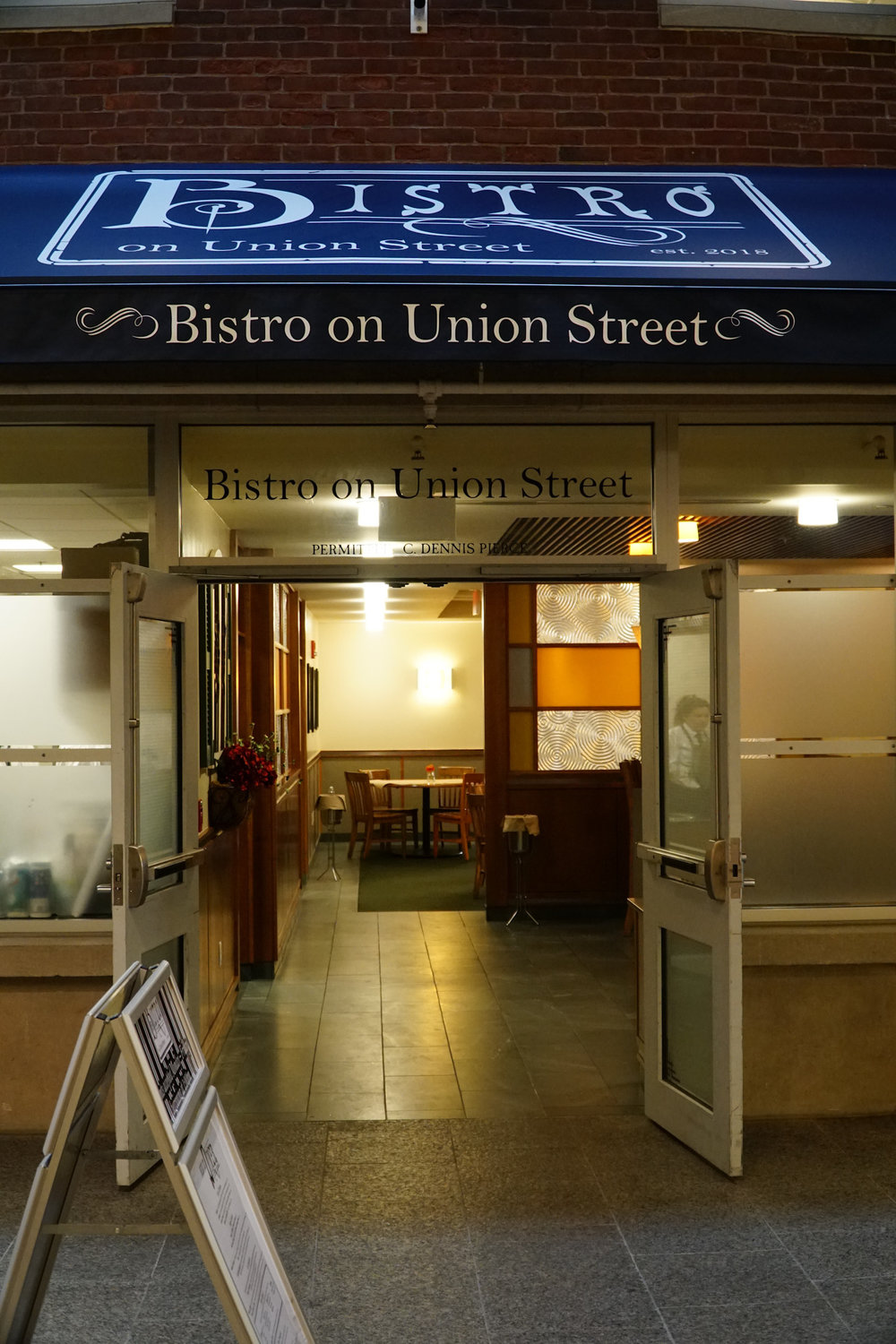 The Bistro Union Street is new at UConn. (Eric Wang/The Daily Campus)