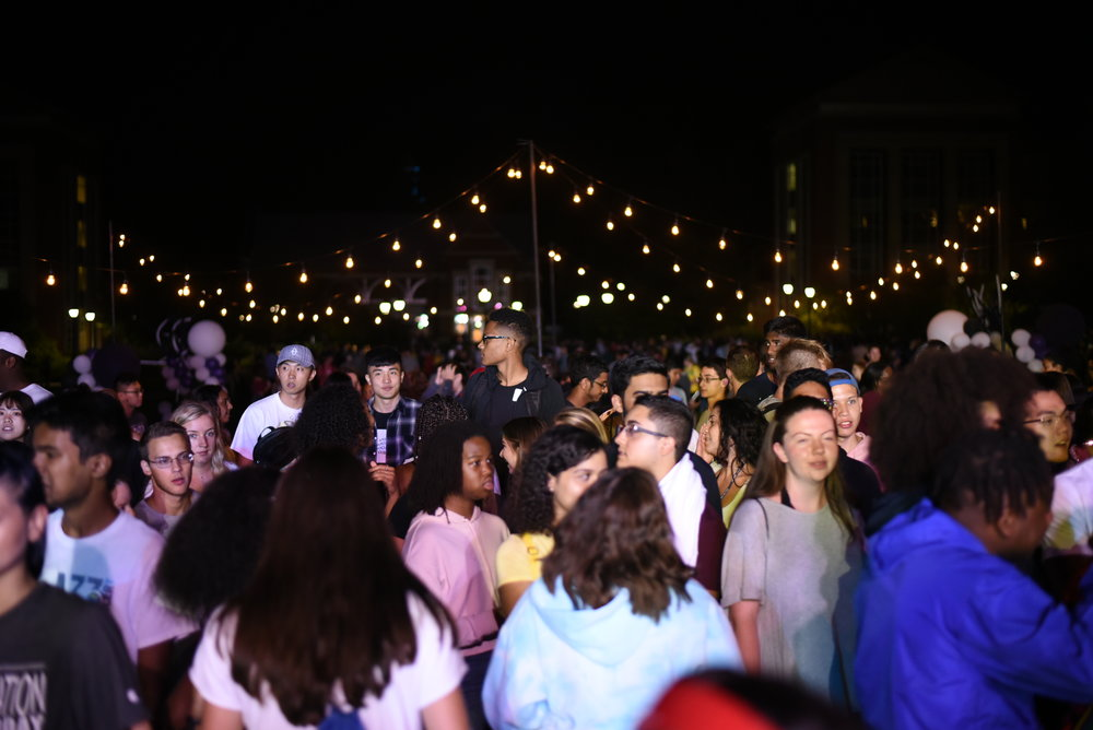 Freshman move in for the fall semester. They attended the Week of Welcome which included lectures and the block party. (Charlotte Lao/The Daily Campus)