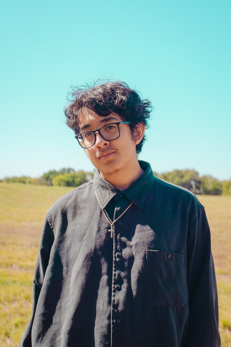 Cuco, born Omar Banos, is a 19-year-old first generation Mexican-American from Hawthorne, California. (Abraham Recio/Courtesy of the artist)