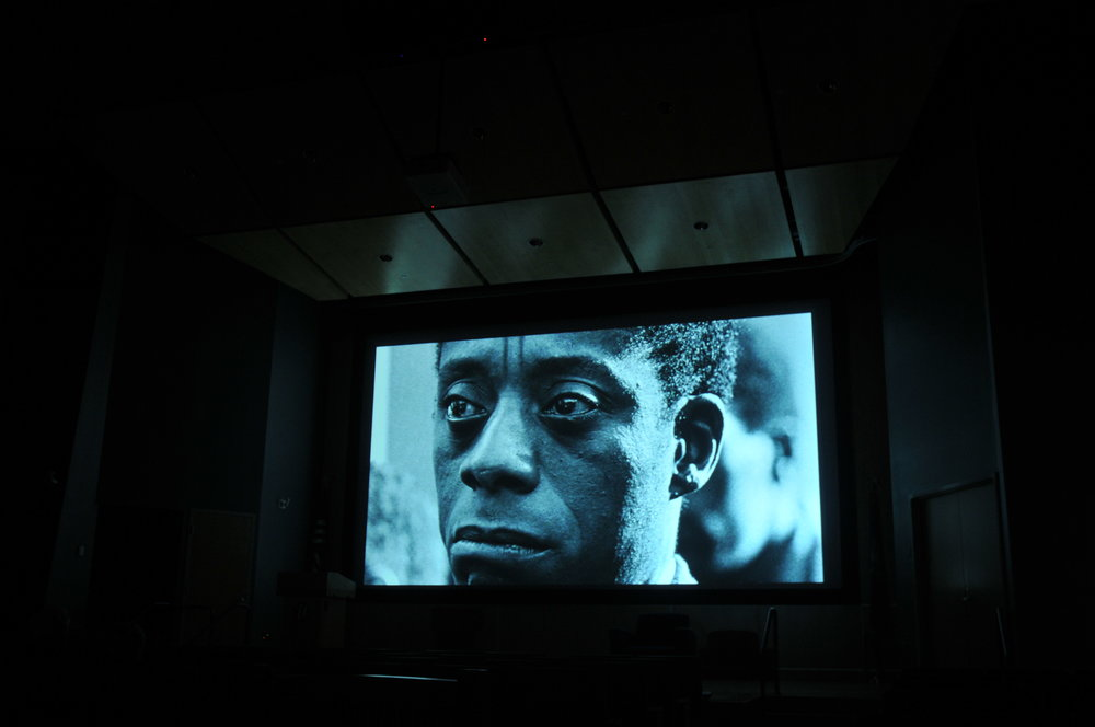 The African Studies Institute hosts a film festival in Student Union Theater. Students gathered on Wednesday to watch several films about African Americans from 12-5. (Joy Zhang/The Daily Campus)