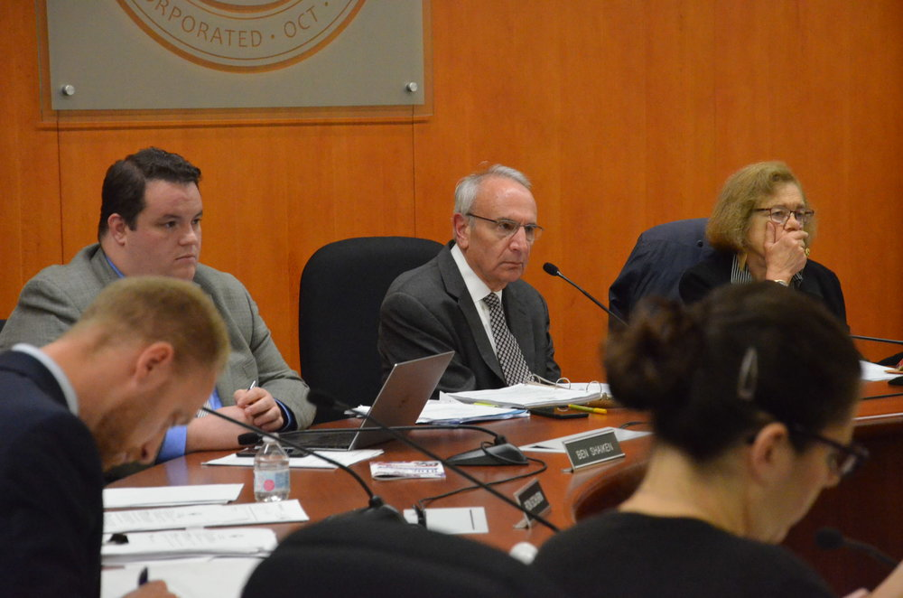 Mansfield Town Council discusses Dog Parks, CREC Schools, and DEEP at their meeting on Wednesday night. (Jenny Field/The Daily Campus)