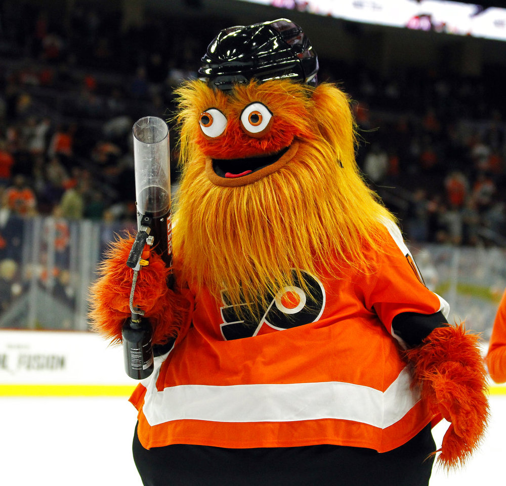 a7c310d32fb NHL Column: Gritty and the making of mascots — The Daily Campus