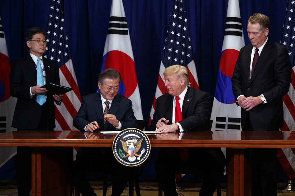 Talks Between North Korea South Korea And United States Shows