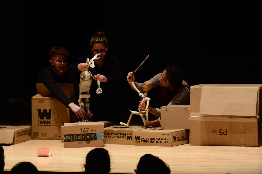 Puppet Slam featured the works of seasoned professionals Hilary Chaplain and Anatar Marmol-Gagne, as well as newly minted UConn undergraduate students. (Judah Shingleton/The Daily Campus)