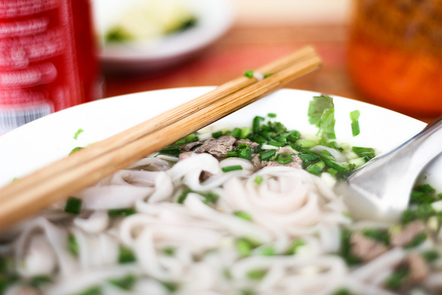 If you're ever at a Vietnamese restaurant, look beyond the pho options and try something else on the menu.  (Rory MacLeod/Flickr Creative Commons)