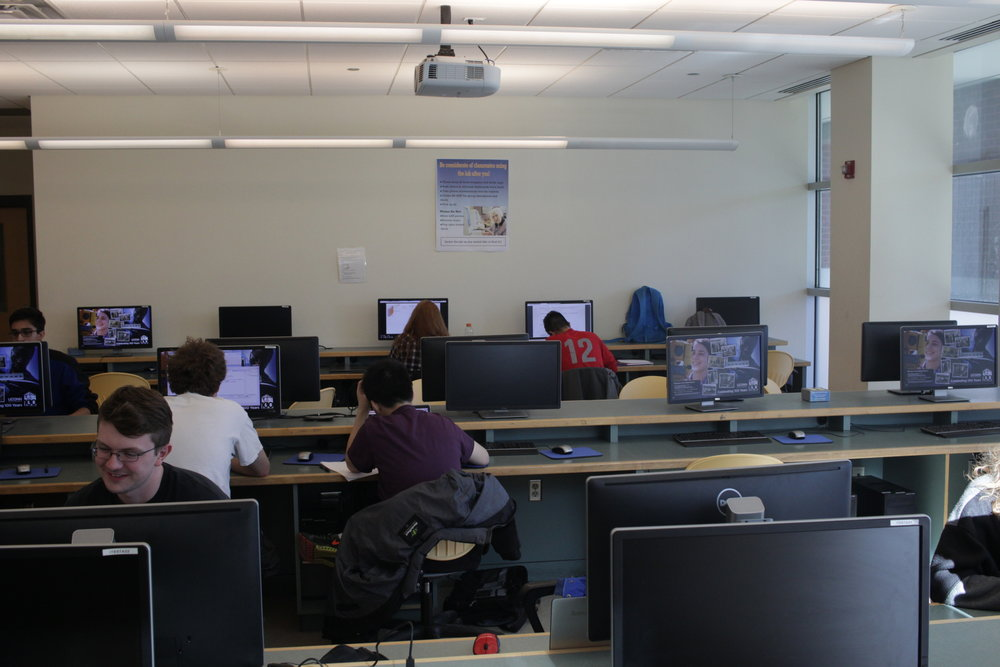 Students hard at work within the School of Engineering (File Photo/The Daily Campus)