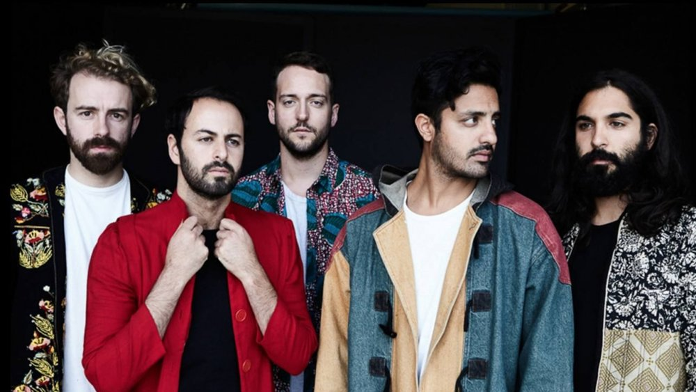 Young the Giant releases bright new track and announces tour, posted on June 14, 2018. (Photo by Gabi Mrozowski)