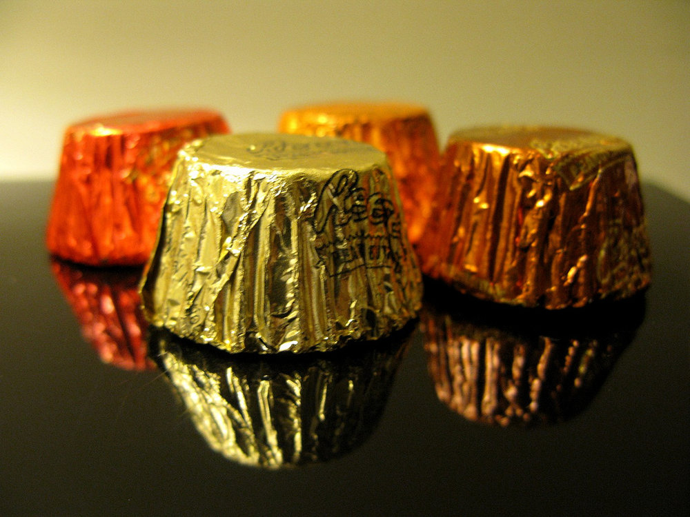 As a lover of chocolate and a lover of peanut butter, Reese's Peanut Butter Cups are always important to me.  (frankieleon/Flickr Creative Commons)