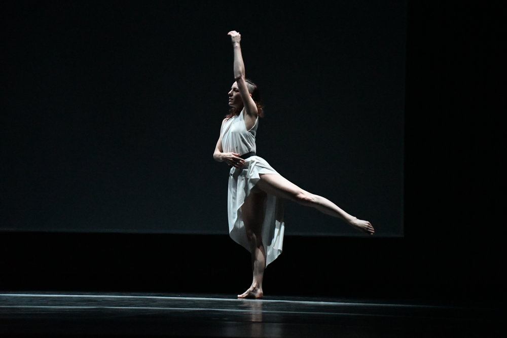 """Choreographer Jonah Bokaer and his international dancing troupe took the Jorgensen stage on Friday, Oct. 19 for the world premiere of his new routine, """"Late Nights on Air,"""" and three performances of older work. (Julie Spillane/The Daily Campus)"""
