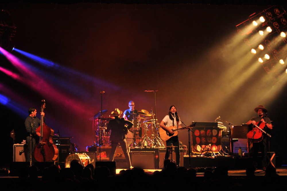 The Avett Brothers perform at Jorgensen on Tuesday, Oct 23. (Congyang An, Grab Photographer/The Daily Campus)