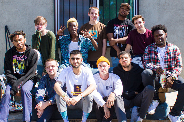 Brockhampton's 'Iridescence' Debuts at No. 1 on Billboard 200 Albums Chart. Photo by Ashlan Grey