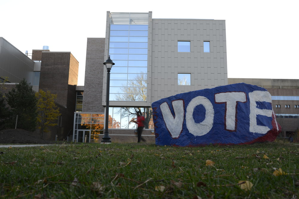 Go vote if you're 18 and older! (file photo/The Daily Campus)