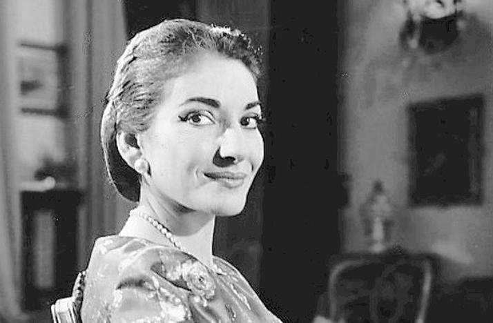 Remembering Maria Callas, 40 Years After Her Death.  Maria Callas in 1958. CBS TELEVISION / WIKIMEDIA COMMONS