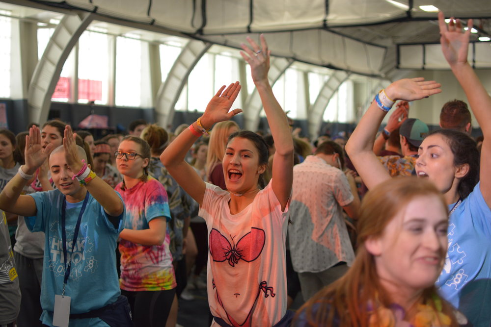 Last year's HuskyTHON raised over a million dollars for the first time ever. (Photo by Nicholas Hampton/The Daily Campus)