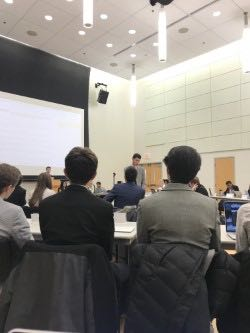The University of Connecticut Undergraduate Student Government (USG) swore in new senator-elects and affirmed a veto of a bill concerning membership to the Election Oversight Committee (EOC) during last night's senate meeting. (Photo provided by writer)