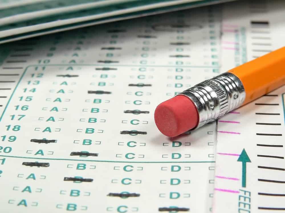 Scantron sheet. Final exams set for December 15-17
