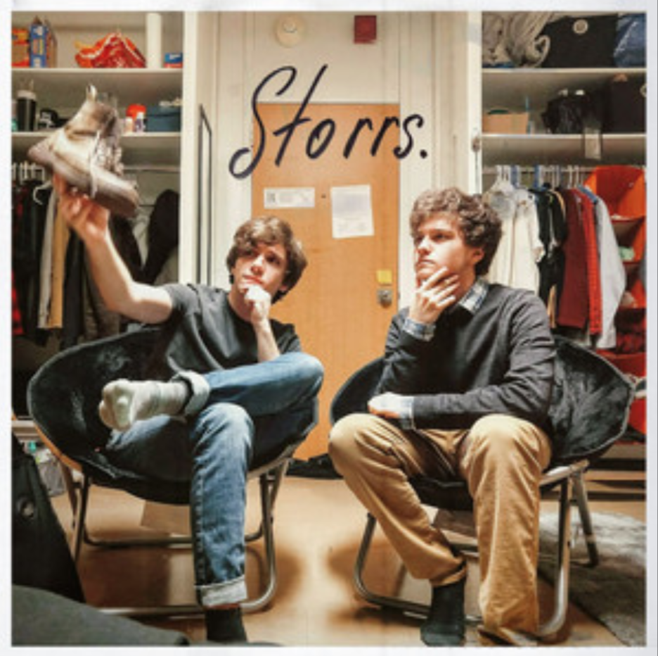 The local indie folk duo Storrs. said that the time they made their first song together, they had a bit of a break down in the back of the member Alex Antunes' 2005 Pontiac Grand Prix. (Storrs. on Spotify)