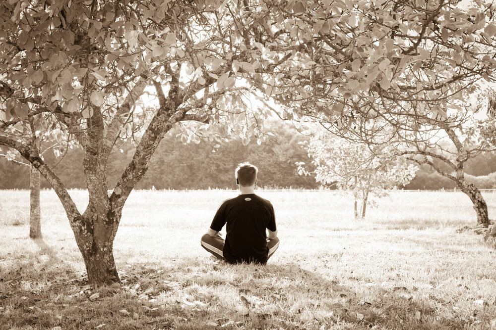 If you're into that Zen lifestyle or if you've seen any self-care tips online, you are probably familiar with meditation.  (Sebastian Wiertz/Flickr, Creative Commons)