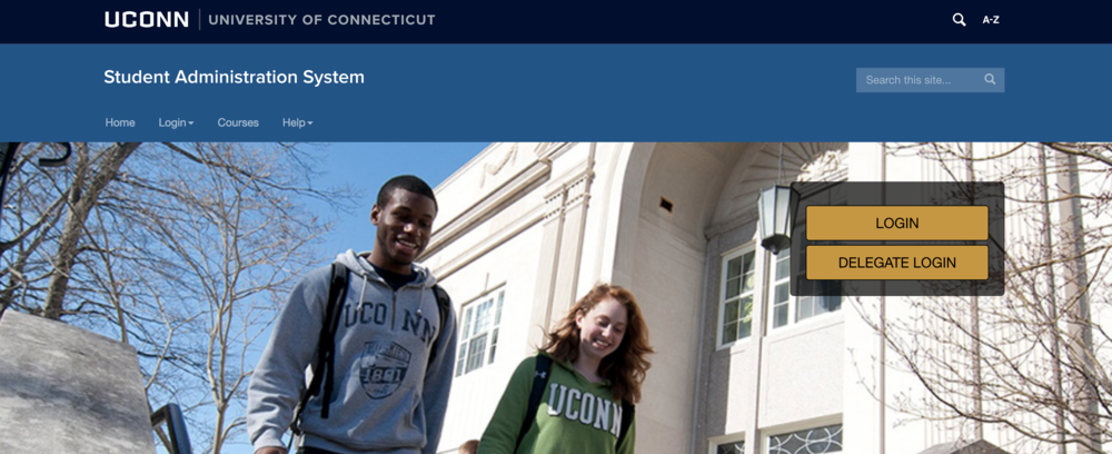 By adding this function and allowing a student's chosen name to be the one displayed on university systems, UConn is sending a message to students, saying that we will be accepting of who each individual is. (Screenshot)
