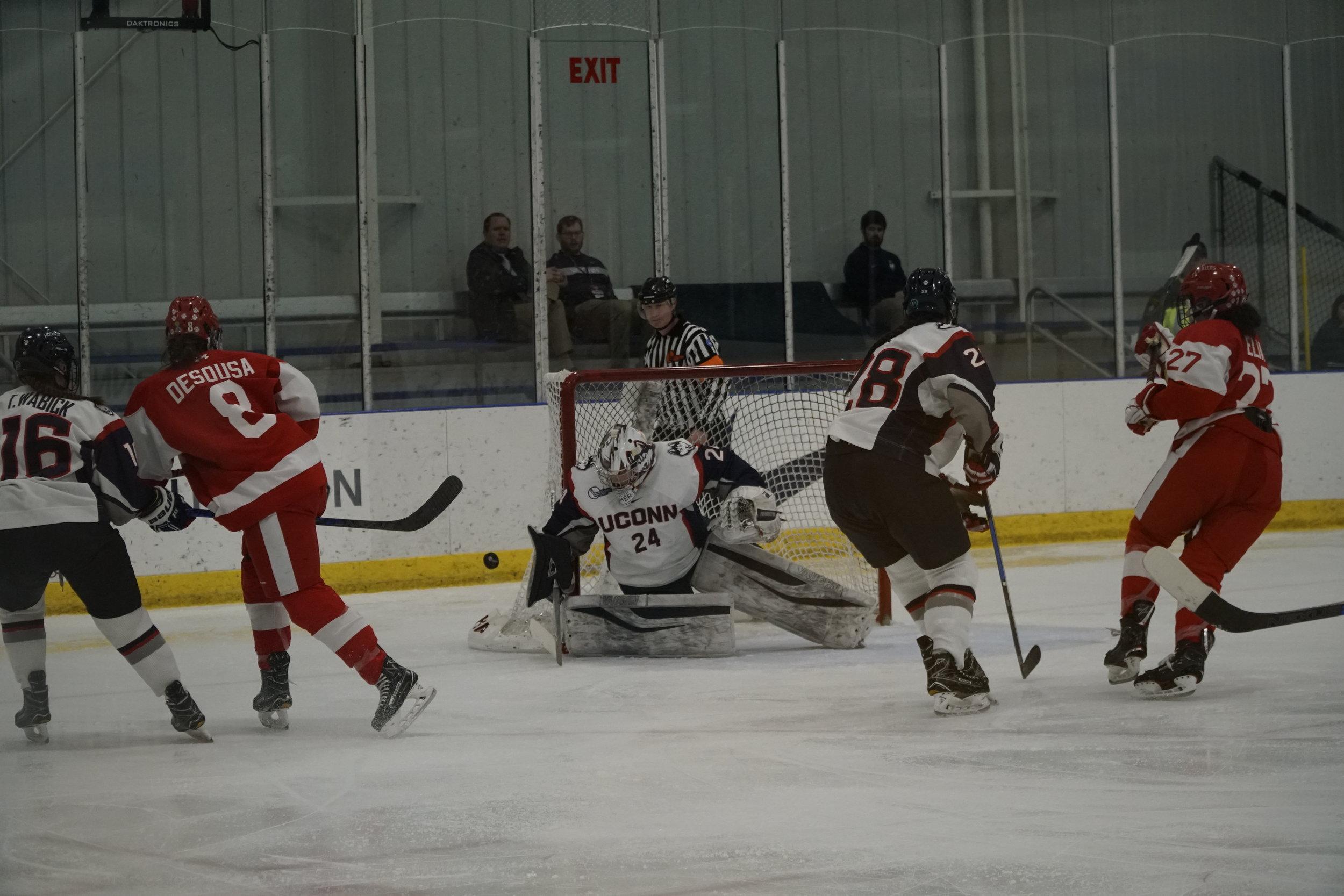 Women's Hockey: Huskies set to face BC in Hockey East quarterfinals