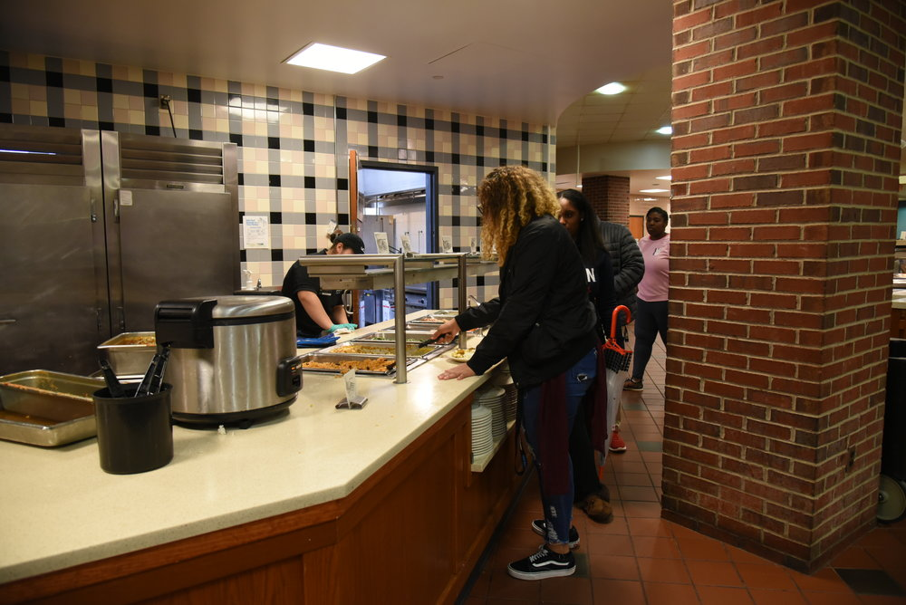 "Students at the University of Connecticut will be able to try a variety of insect-themed meals next Tuesday, March 12 at 6 p.m. in Rome Commons for the dining services-sponsored ""Bug Feast,"" said Dining Services director C. Dennis Pierce. (Charlotte Lao/The Daily Campus)"