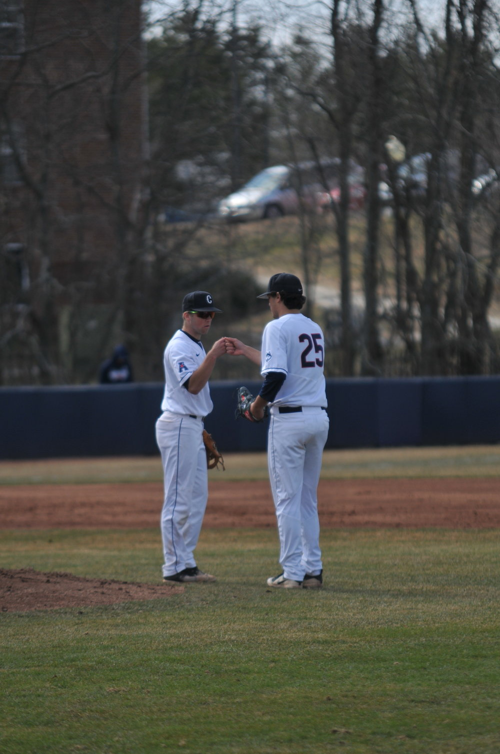 UConn baseball dominated MSU over the weekend, winning all four games. Photo by Eric Wang/The Daily Campus