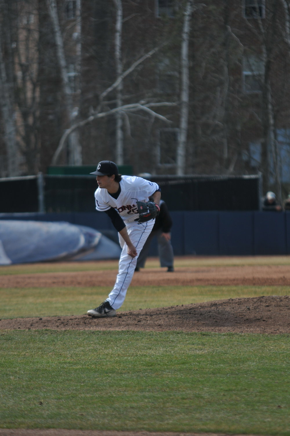 The Huskies opened conference play with a great performance in Houston with a series win. (Eric Wang/The Daily Campus)