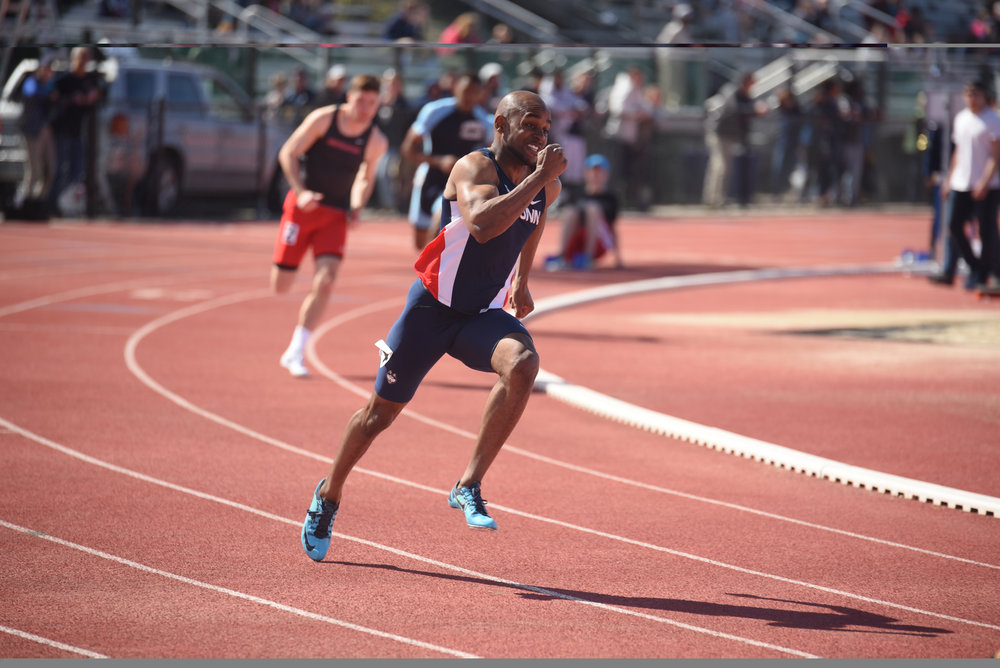 Several Huskies picked up where they left off in the winter, and other athletes rejoined the team after sitting out the indoor season in a Florida invitational over the weekend. (File photo/The Daily Campus)