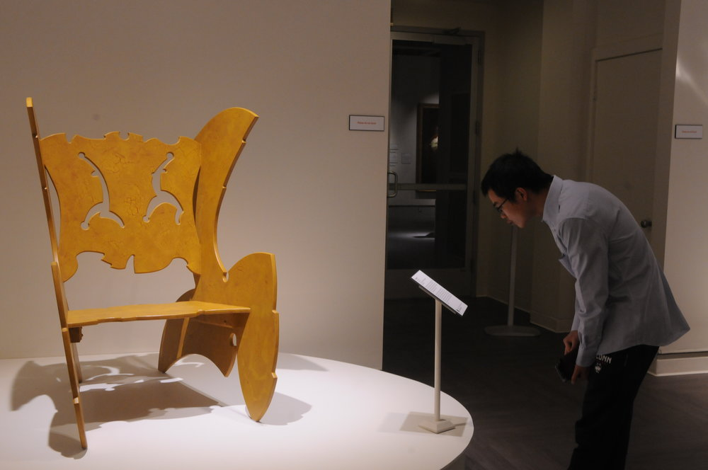 The Benton Museum hosts an Opening Reception on Thursday night. The night consisted of an exhibition featuring contemporary art furniture inspired by Game of Thrones along with live swing music by Survivor's Swing Band. (Photo by Nicole Jain/The Daily Campus)