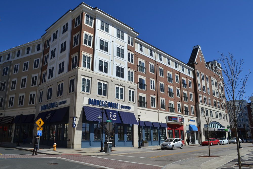 Storrs center. (File Photo/The Daily Campus)