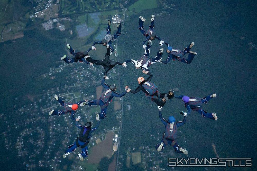 (Image courtesy UConn Skydiving Club)