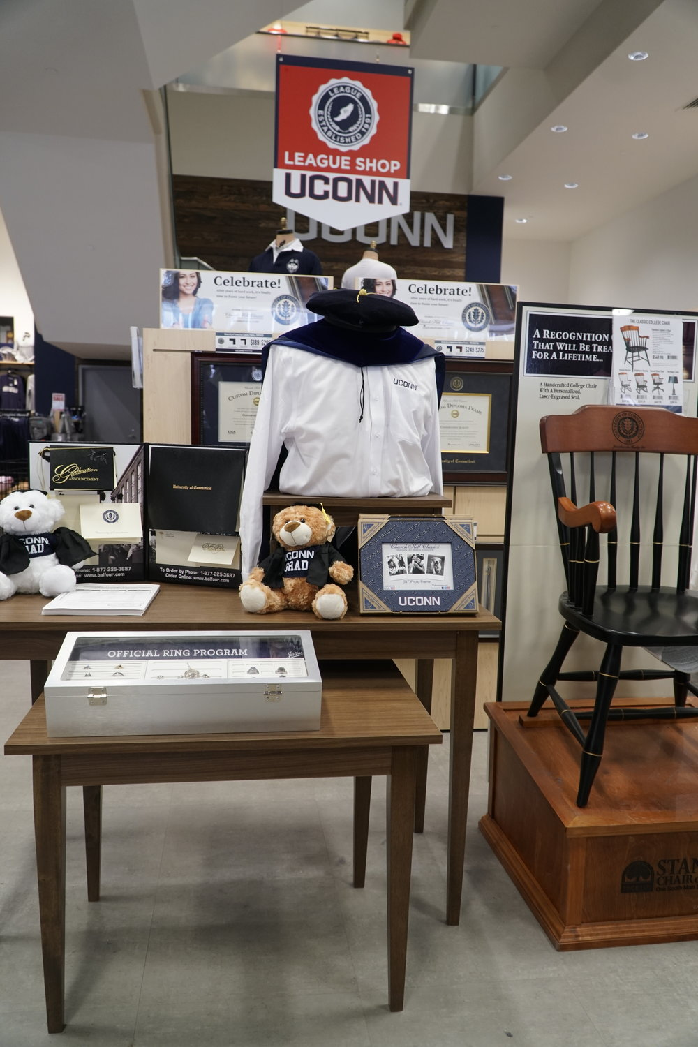 As a graduate of UConn, you have to buy a regalia from the UConn Bookstore. Students are not allowed to re use old ones; doesn't it seem kind of wasteful? (Eric Wang/The Daily Campus)