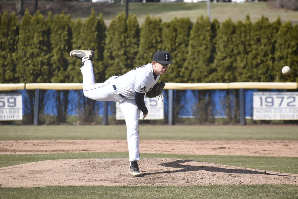 UConn Baseball plays against Northeastern University with a 6-2 win. This leaves the team at 21-12 in the season. (Photo by Brandon Barzola/The Daily Campus)