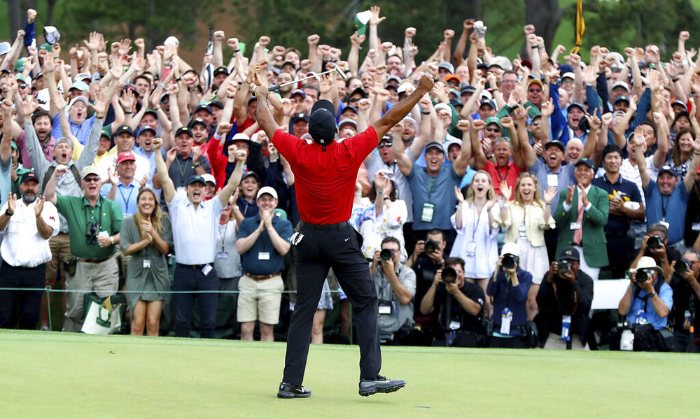 5f78ec97bd91 Column  Tiger Woods is golf s one true master — The Daily Campus