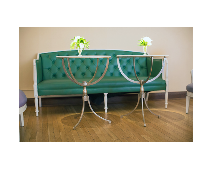 Merveilleux Obscura Green Tufted Sofa
