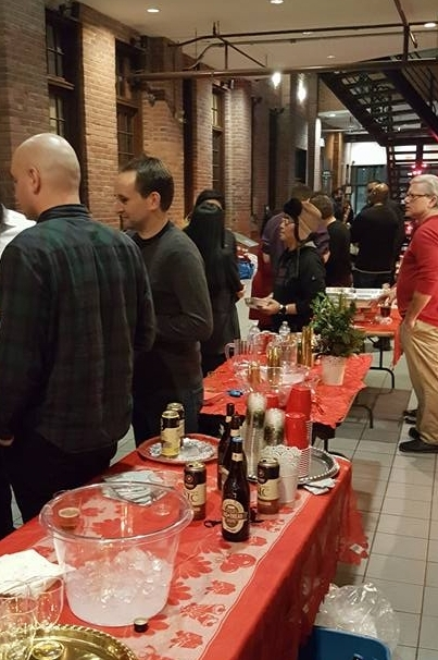T-COOR Holiday Party at FILM PORT on December 16, 2016