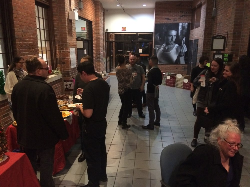 T-COOR's 2nd Annual Holiday Party @ Film Port in December 2017