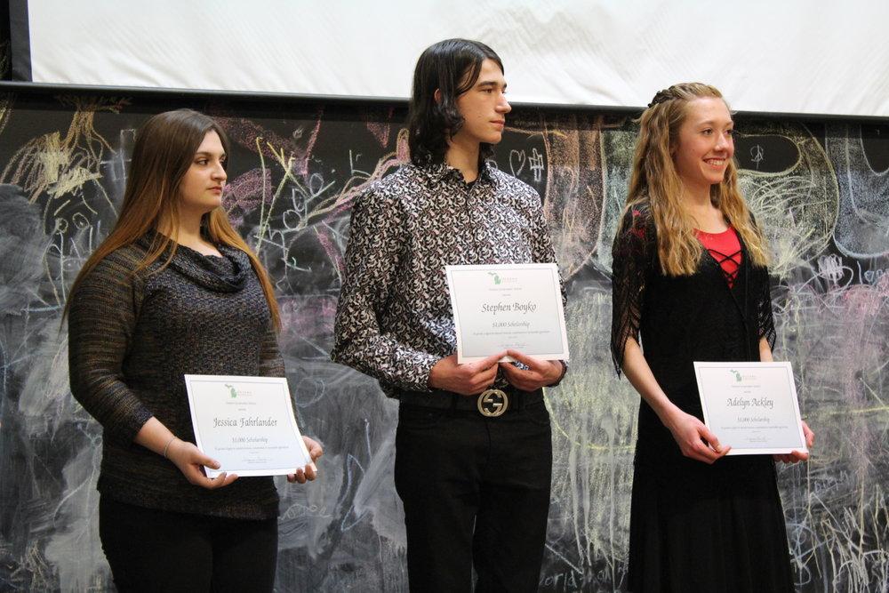 2019 scholarship recipients.