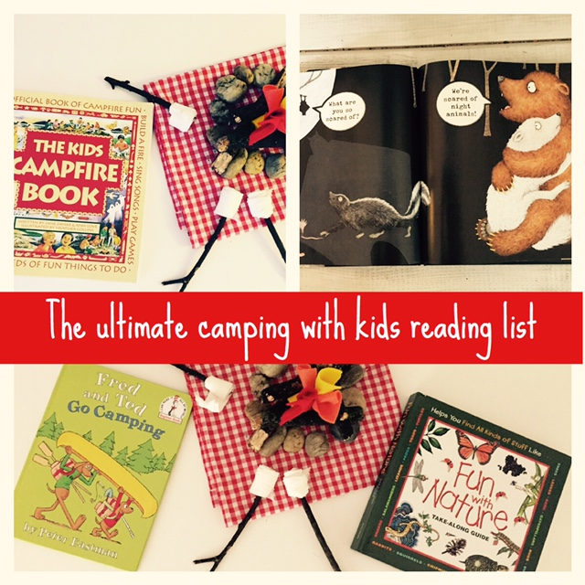 the ultimate camping with kids reading list! — booktomato